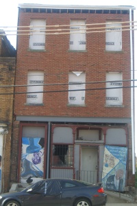 August Wilson's childhood home at 1727 Bedford Avenue ©2015 RJ WAGG PHOTO