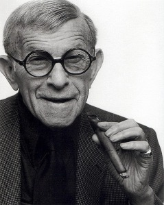 George Burns Comedian 1896 - 1996 Age -100