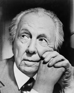 Frank Lloyd Wright Architect 1867 - 1959 Age - 91